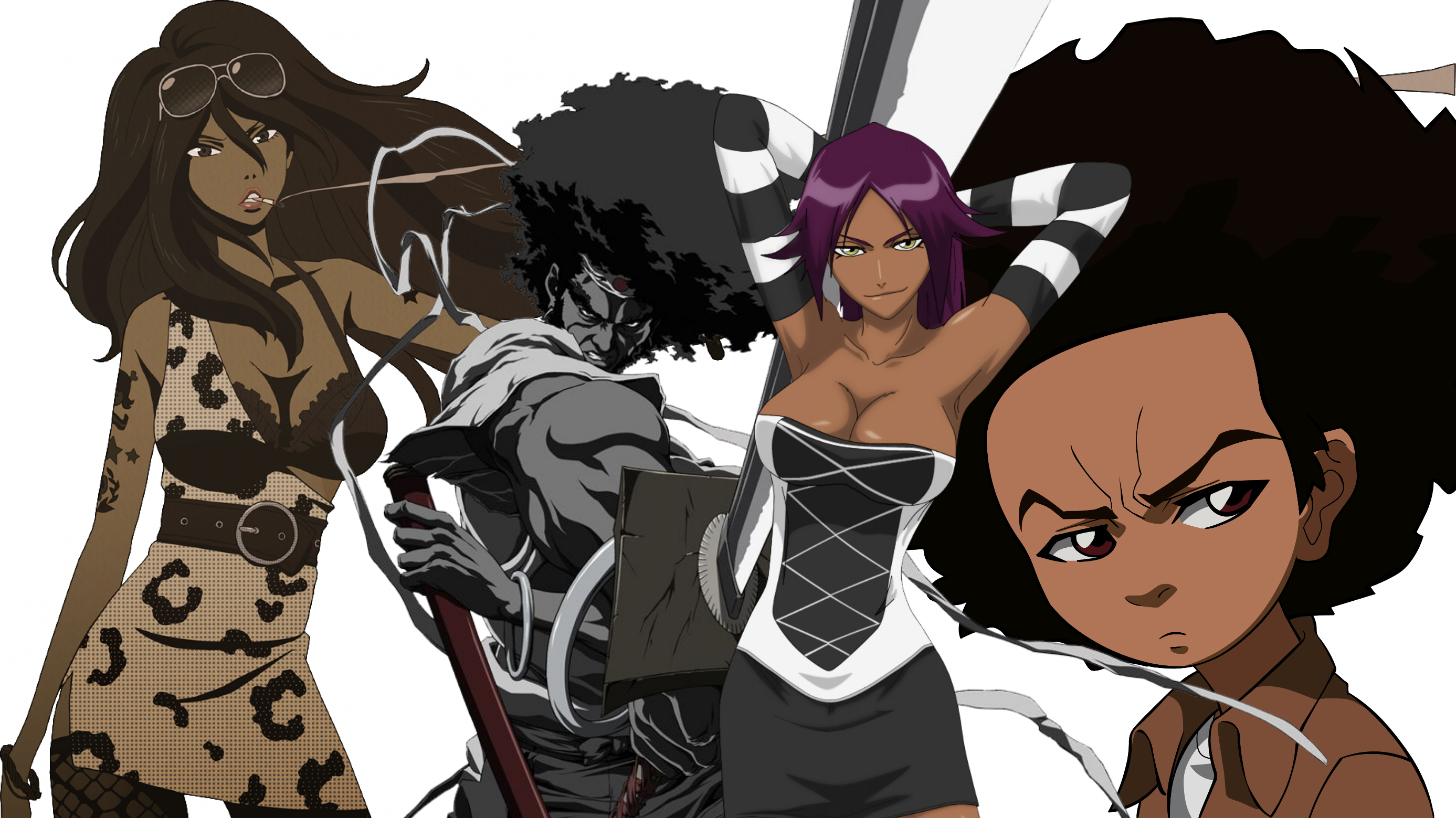 It S Time For Japanese Manga Artists To Change Their Stereotypical Portrayal Of Black Anime Characters Omnigeekempire