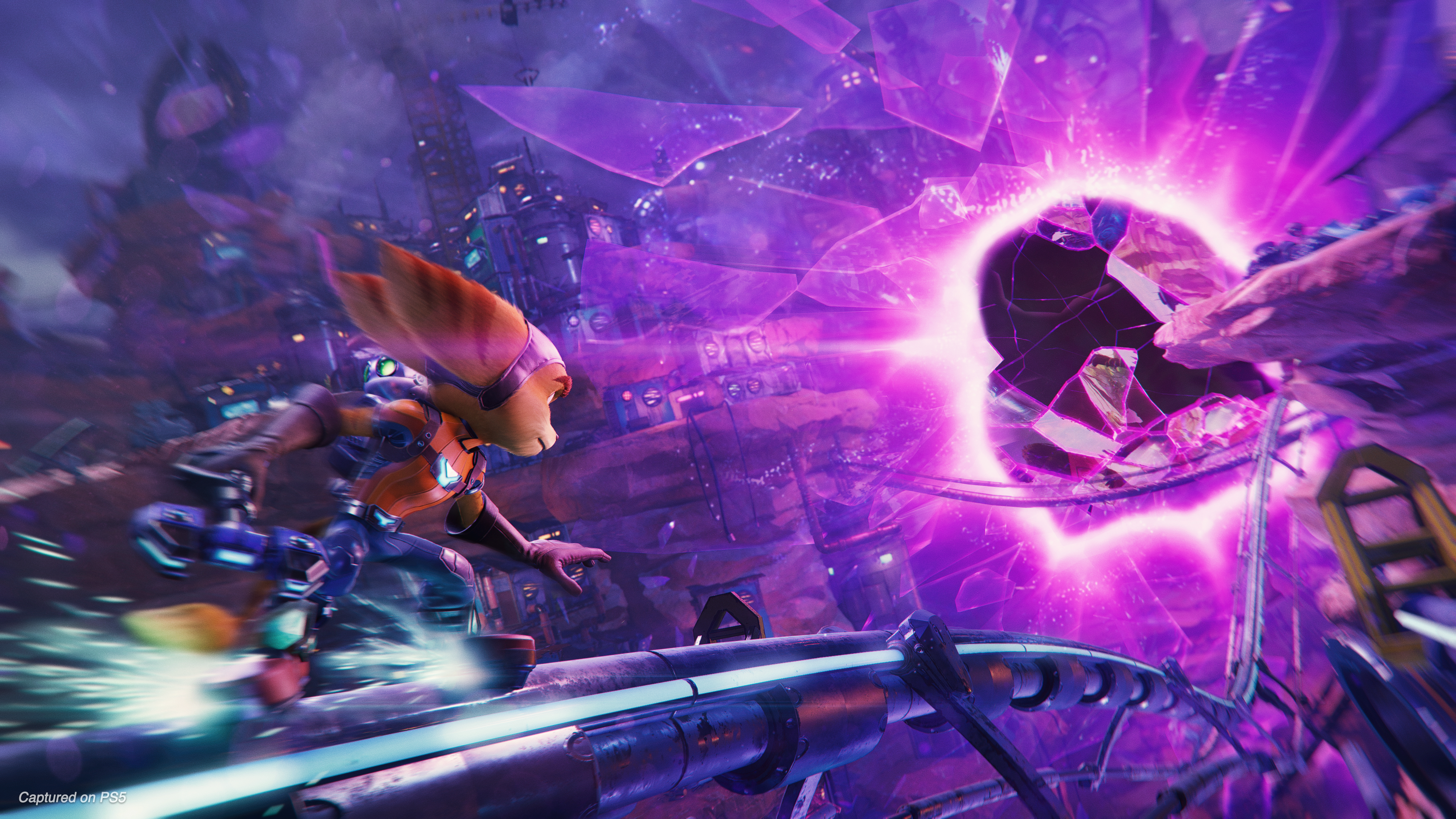 Ratchet Clank Rift Apart Will Demonstrate The Power Of The Ps5